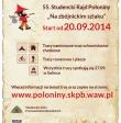 55. Studencki Rajd Połoniny