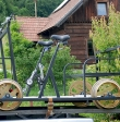 Bieszczadzkie drezyny rowerowe