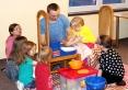 Dzieciaki na warsztatach Pracownia Warsztatów Edukacyjnych Figaro