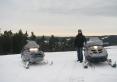 Zimowe szaleństwo na skuterach